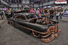DIESEL-POWERED COPPER CADDY COUPE - SEMA 2016