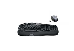Logitech  MK570 Comfort Wave Wireless Keyboard and Optical Mouse for $34.99 at Best Buy