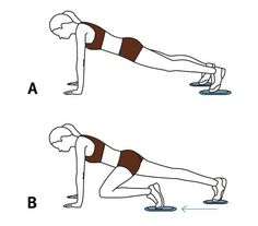 Move 6: Mountain Climber   A quick routine with the portable disks gives your full body a workout.