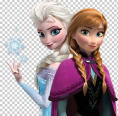 Elsa Frozen Anna Olaf PNG - Free Download