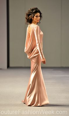 Isabel Zapardiez Couture Fashion Week New York ,Spring Collection 2013