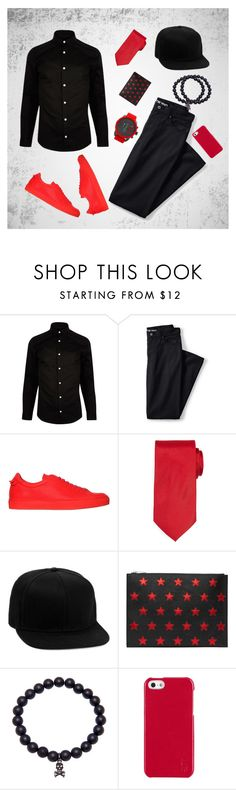 """""""12"""" by denis-luka on Polyvore featuring River Island, Lands' End, Givenchy, Neiman Marcus, Topman, Yves Saint Laurent, Polo Ralph Lauren, Diesel, men's fashion и menswear"""