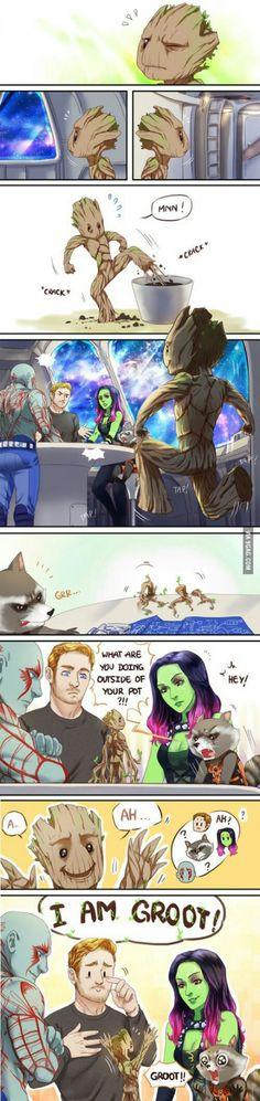 A... Ah... I am Groot