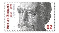 Briefmarke zum 200. Geburtstag Otto von Bismarcks.
