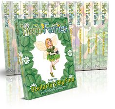 Herb Fairies books--learning about herbs for kids