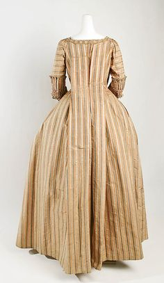 Dress (Robe à la Française)  Date: 1775–80
