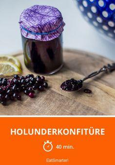 Holunderkonfitüre - smarter - Zeit: 40 Min.   eatsmarter.de
