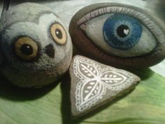 Painted Stones ∙ Creation by katherine p. on Cut Out + Keep