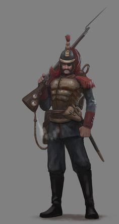 Implacable Mercenario by Rucalok