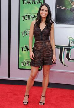 Pin for Later: We've Found the Chicest Way to End the Week Jordana Brewster Jordana Brewster at the Teenage Mutant Ninja Turtles LA premiere.