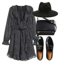 """Untitled #4146"" by theeuropeancloset on Polyvore featuring H&M, Gucci, Givenchy and Forever 21"