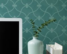 Large Curved Connection Stencil for Wall by royaldesignstencils, $39.00