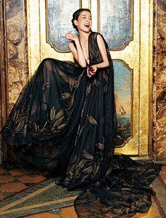 Rie Miyazawa × Valentino Haute Couture