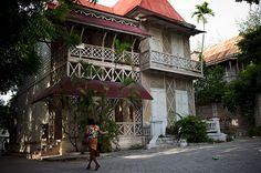 Haiti Gingerbread House... this house looks like ruelle villemenay