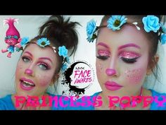 Image result for princess poppy makeup