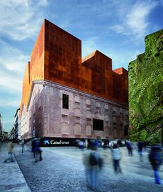 CaixaForum madrid. Exposiciones, librería, conciertos, restaurante