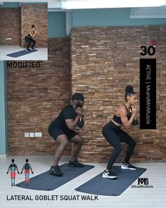 Pin, Tag and Share with a squat lover! Try this intense, fun and fat burning Glutes and Legs HIIT Workout today! Fitness Workouts, Full Body Hiit Workout, Fitness Motivation, Hiit Workout At Home, Gym Workout Videos, Fitness Workout For Women, Butt Workouts, Gym Fitness, Workout For Beginners