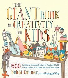Bobbi Conner, author of The Giant Book of Creativity for Kids. Topic: 500 activities to encourage creativity in kids ages 2-12. Issues: The principles of childhood creativity; being creative as a family; art activities, music activities, pretend activities; dance and movement activities, creativity with words.