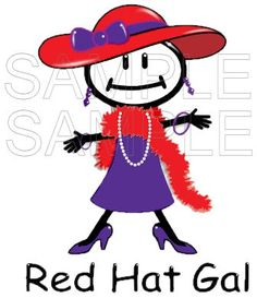 Red Hat Society Red Hat Gal T-Shirt