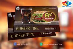 Exemple de proposition de modèle pour votre restaurant fast food ou d'une spécialité.