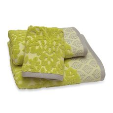 Kareena Bath Towel - Citron - Bed Bath & Beyond