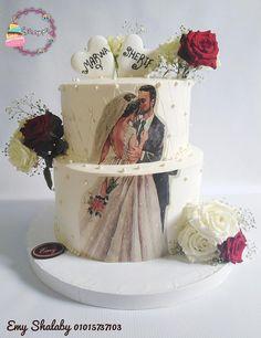 Blush Pink Wedding Cake, Wedding Dress Cake, Elegant Wedding Cakes, Beautiful Wedding Cakes, Wedding Cake Designs, Beautiful Cakes, Cake Decorating Techniques, Cake Decorating Tutorials, Dummy Cake