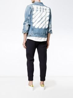 Spray Painted Denim Jacket by Off-White, $720