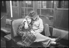 """Life and Love on the New York Subway"" By 18 years old Stanley Kubrick for Look Magazine"