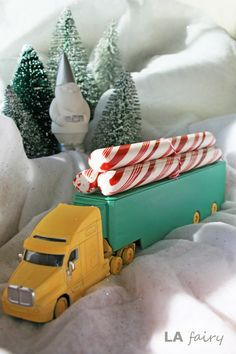Christmas Toy Truck w/candy