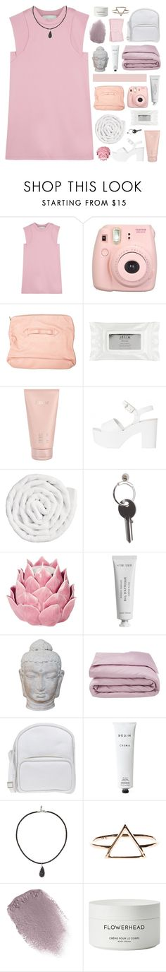 """""""♡ got yourself this flawless body & testing tags"""" by lie-ability ❤ liked on Polyvore featuring 3.1 Phillip Lim, Fujifilm, Front Row Shop, Stila, Lalique, VIPP, Maison Margiela, Zara Home, Byredo and Puji"""
