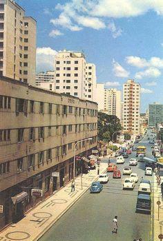 Rua Cruz Machado. Postais Antigos de Curitiba imagino que sejam todos da década de 1970.