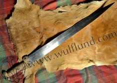HAND HAMMERED CELTIC SWORD, replica, La Tene Age