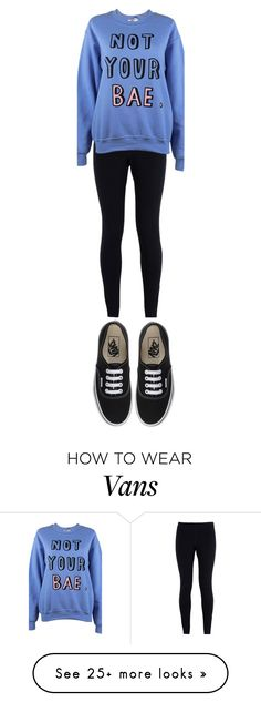 """""""Untitled #282"""" by wacawaca on Polyvore featuring Vans, NIKE, Adolescent Clothing, women's clothing, women, female, woman, misses and juniors"""