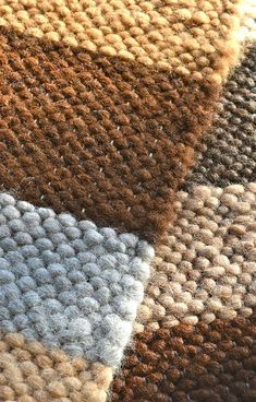 Hand woven alpaca rugs made with 'seconds' fiber...super, super soft on your feet :) Made at Legacy Lane Fiber Mill