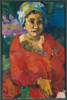 Oskar Kokoschka Der Perser 1921 Öl auf Leinwand 85,5 x 62,5 cm Leopold-Hoesch-Museum der Stadt Düren, Foto: Anne Gold © Fondation Oskar Kokoschka/VBK, ...
