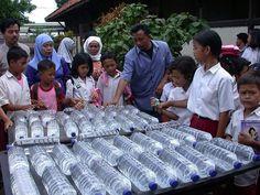 Sodis, el método más sencillo para potabilizar agua con energía solar.