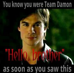 Oh so true!! Damon Salvatore, The Vampire Diaries