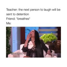 why does her laugh sound like mine though Funny Video Memes, Stupid Funny Memes, Funny Relatable Memes, Funny Posts, Funny Quotes, Hilarious, Funny Videos, Funny Stuff, Mood Songs