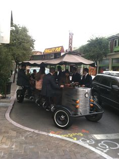 Pedal powered trolley