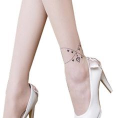ankle bracelet tattoo celebrity - motherdaughtertattoo