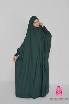 Islamic jilbab and hijab, website of reference in clothes for the muslim woman, high-range and cheap jilbab ! Overhead jilbab and saudi jilbab. Moslem Fashion, Niqab Fashion, Skirt Fashion, Fashion Beauty, Womens Fashion, Kaftan, Modest Summer Outfits, Bridal Hijab, Islamic Clothing