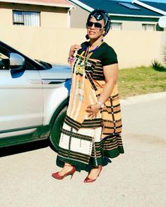 South African Traditional Dresses, African Traditional Wedding, Xhosa Attire, 40 And Fabulous, Clothing Hacks, Weeding, Queens, Kimono Top, Culture