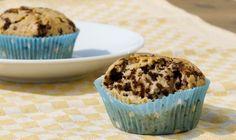 Stracciatella-Muffins, vegan