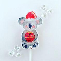 Koala lollipop holders from Glitter & Glue Designs