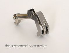 Ever wonder how sewists get perfect topstitching. The secret is to use an Edge Stitch Foot. Learn all about the secrets to better sewing with this amazing presser foot. The Edge Stitch Foot