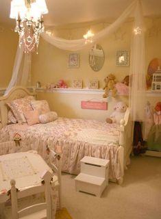 Beautiful little girl's bedroom decor Girls Bedroom, Big Girl Bedrooms, Little Girl Rooms, Trendy Bedroom, Bedroom Decor, Bedroom Ideas, Bedroom Ceiling, Princess Bedrooms, Toddler Rooms