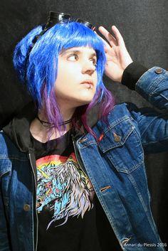 Ramona Flowers, Scott Pilgrim, Amazing Cosplay, Costume Design, Persona, Halloween Party, Comic Books, Punk, Fan Art