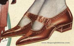 The Flapper Shoe 1922