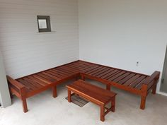 Zambezi Teak days beds and table Fine Woodworking, Daybed, Outdoor Furniture, Outdoor Decor, Sun Lounger, Teak, Craftsman, Table, Home Decor