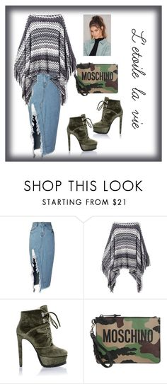 """""""Fille mignon"""" by vilzak on Polyvore featuring storets, Moschino and NA-KD"""